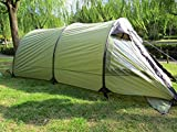 DANCHEL Camping Tunnel Tent for 6 to 8 Person