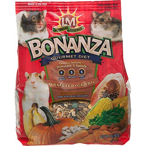 LM Animal Farms Bonanza Gourmet Diet Hamster and Gerbil Food by L & M Animal by L & M Animal