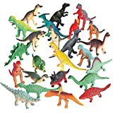 Fun Express Vinyl Mini Dinosaurs - 72 Count