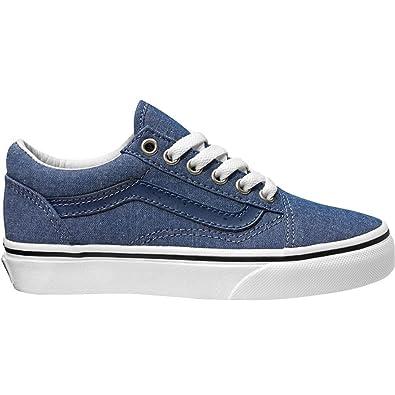 vans zapatilla niño azul
