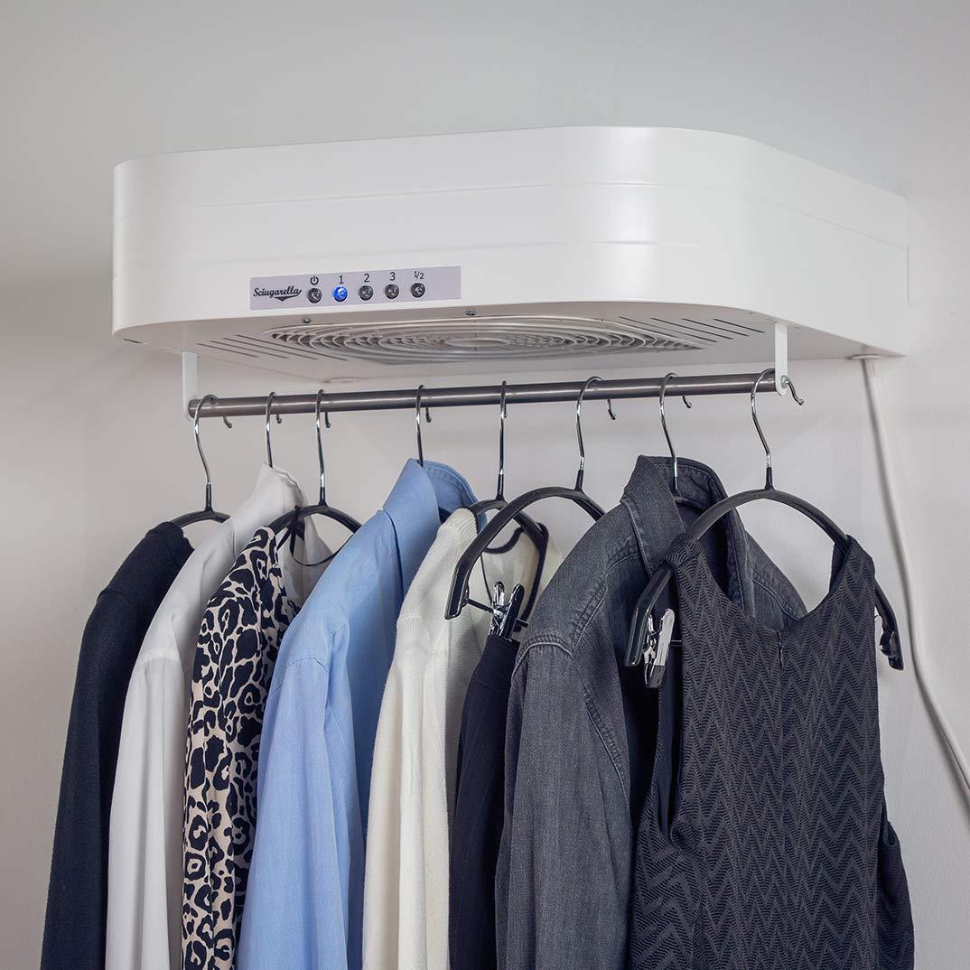 SCIUGARELLA LIGHT – le nouveau sèche-linge à air – peut sécher jusqu' à 5 Kg de linge en seulement 50 cm – par Sciugarella vous pouvez dire au revoir à l'étendoir et au fer à re