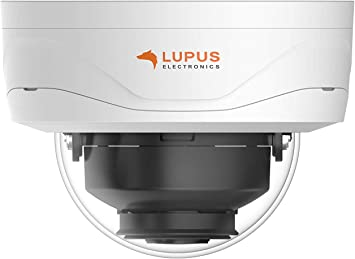 Lupus Le224 8mp Poe Ip Camera For Outdoors Sd Slot Motor Zoom Night Vision Motion Detection Ios And Android App Integrated Into The Lupusec Smarthome Alarm System Includes Management Software Baumarkt