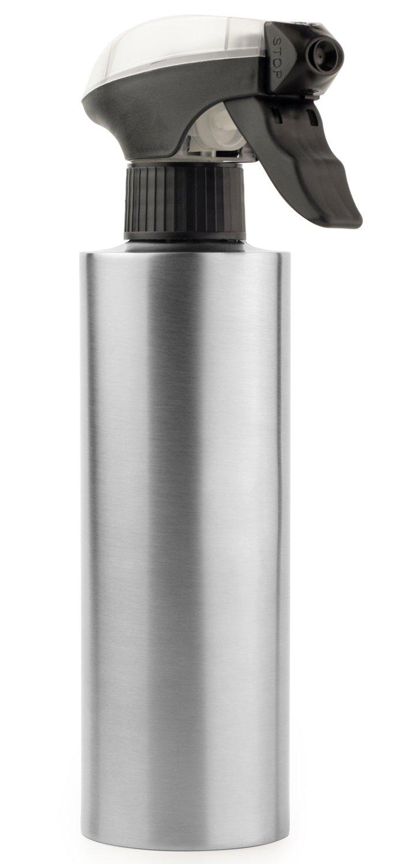 DPOB Oil Sprayer Bottle, Non-Aerosol for Olive Oil and Cooking Oils, Bbq/Cooking/Vinegar Stainless Steel Oil Sprayer, 12-ounce Capacity