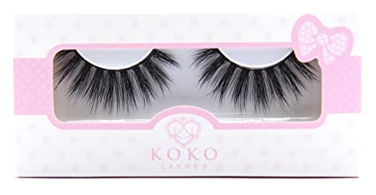 964fd90e8fb Image Unavailable. Image not available for. Color: KoKo Lashes VENUS Wispy  Glamour Fake Eyelashes (New ...