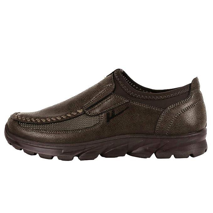 Herren Schuhue Sportschuhe Sneaker Running Wanderschuhe Outdoorschuhe  Herbst Herrenschuhe atmungsaktiv Rutschfeste Sport dicken Boden  Freizeitschuhe 6f2fc618fe