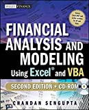 img - for Financial Analysis and Modeling Using Excel and VBA (Wiley Finance) by Chandan Sengupta (2009-11-24) book / textbook / text book
