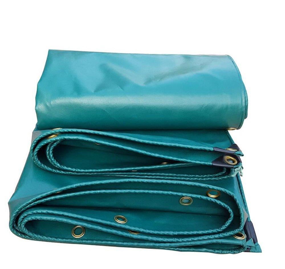 530グラム/平方メートル0.45ミリメートルサンシェード布/PVCプラスチックコーティングターポリン/日焼け止めターポリン/ローリー防水ターポリン/雨用防水シート/緑色耐引裂性防水シート (色 : 緑, サイズ さいず : 4*8m) B07CWJLWT2 4*8m 緑 緑 4*8m