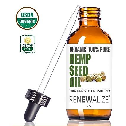 Organic Hemp Seed Cleansing Oil