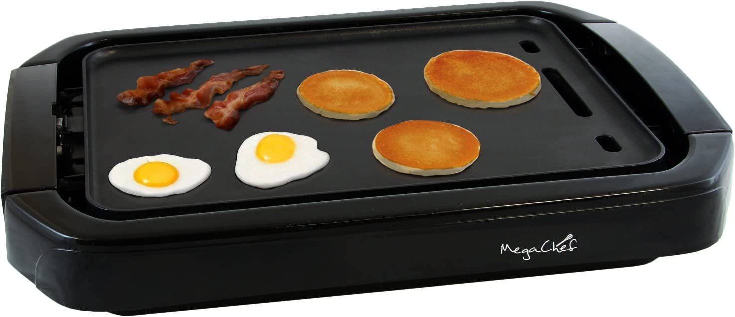 The MegaChef Dual Surface Reversible Indoor Grill and Griddle