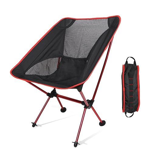 アウトドアチェアLinkax折りたたみ椅子ポータブルチェアフィットチェア 軽く持ち運びに便利専用ケース付きお釣り登山キャンプ用