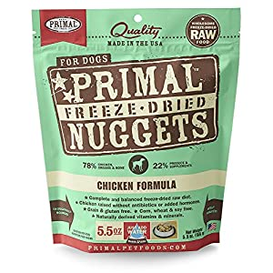 Primal Freeze Dried Dog Food Chicken Formula 15