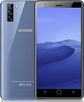 Moviles Libres 4g, M9(2020) 6.3 Pulgadas 4GB+64GB/128GB 4800mAh Full-Screen Smartphone Libre Android 8.1 Quad Core Cámara 8MP+5MP Dual SIM Moviles Buenos (Verde): Amazon.es: Electrónica