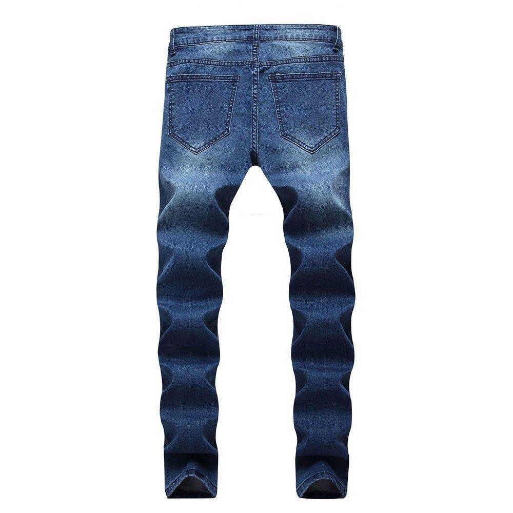 ZODOF Pantalones Hombre,Pantalones Vaqueros de Hombres Jogger Pantalones Deportes Pantalones de chándal para Hombre