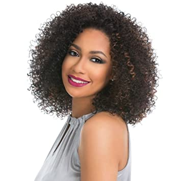 Short Afro Kinky Curly Wig Synthetic Wigs For Black Women African American  Short Hair Wigs For 21e183b329