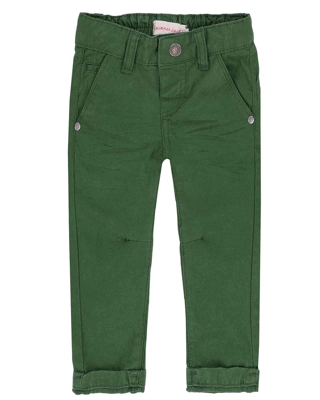 Sizes 18M-6 Deux par Deux Little Boys Green Twill Pants Forest Fest