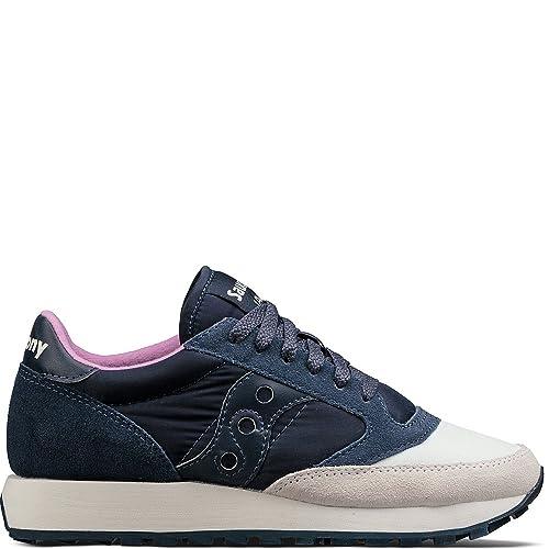be77a03d52773 Saucony Originals Women's Jazz Original Sneaker, Coral Cream, 7.5 Medium US