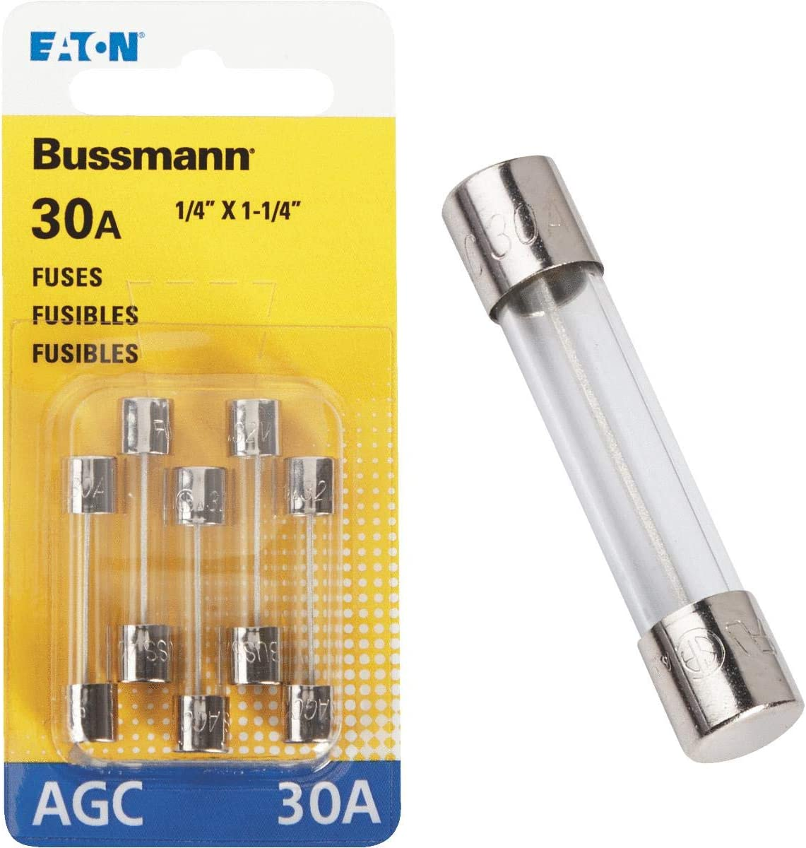 Amazon Com Bp Agc 30 Rp Fuse Agc 30a 5 Cd Automotive