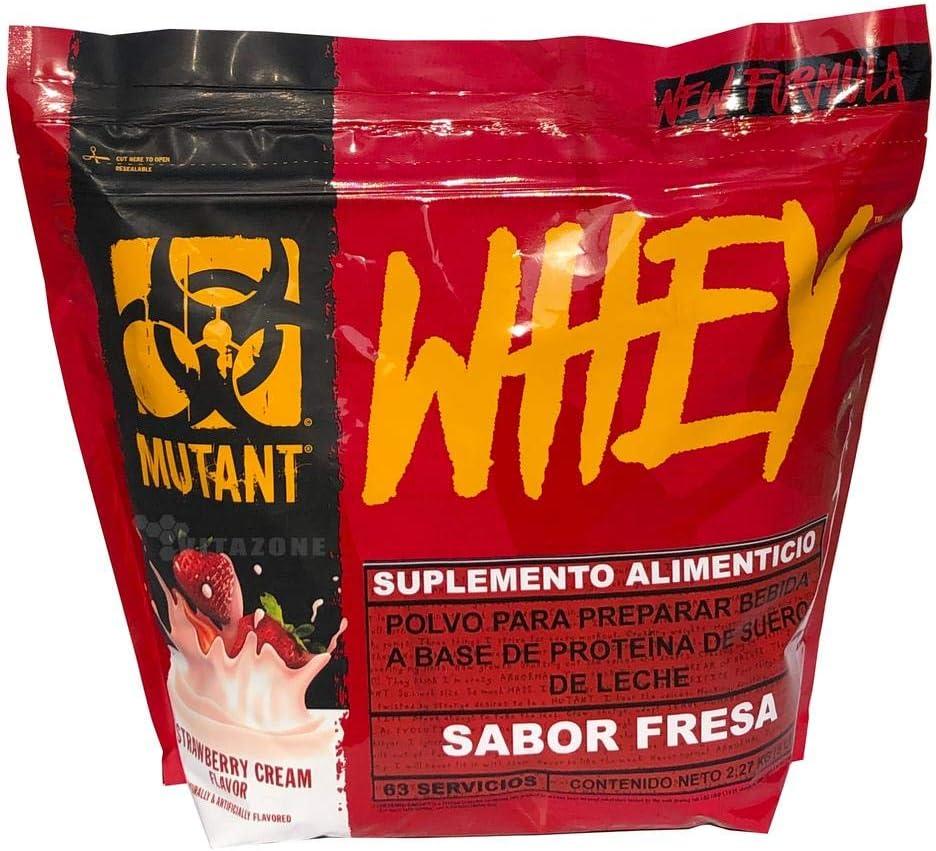 Mutant Whey Strawberry, 1er Pack (1 x 2.27 kg)