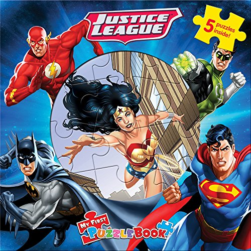 DC Justice League My First Puzzle Book