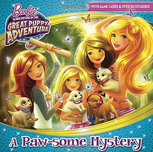 Download A Paw-some Mystery (Barbie and Her Sisters in the Great Puppy Adventure) (Pictureback(R)) pdf
