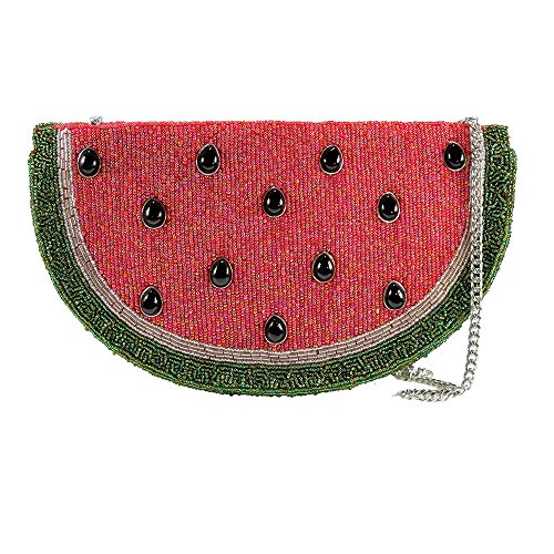 Fruit Shoulder Handbag Mary Slice Of Jeweled Bag Frances Life Watermelon Beaded Slice RFF0Sxqvw