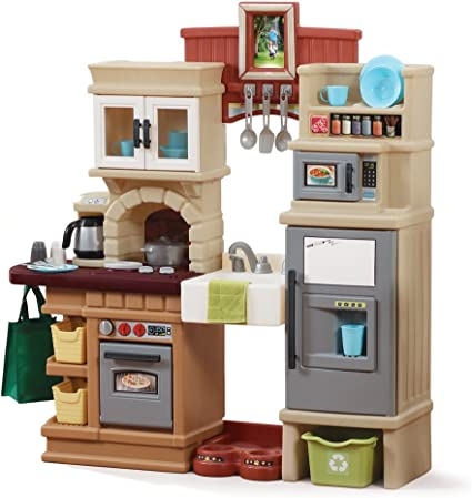 Amazon Com Step2 Heart Of The Home Kitchen Playset Toys Games