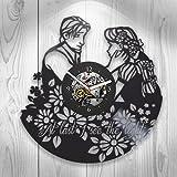 Vinyl Clock, Rapunzel, Cartoon, Disney, Tangled, Wall Decor, Handmade Gift, Modern Art, Gift Ideas For Kids, Handmade Art, Unique Design, Modern Home Decor, Children's Room Decor Review