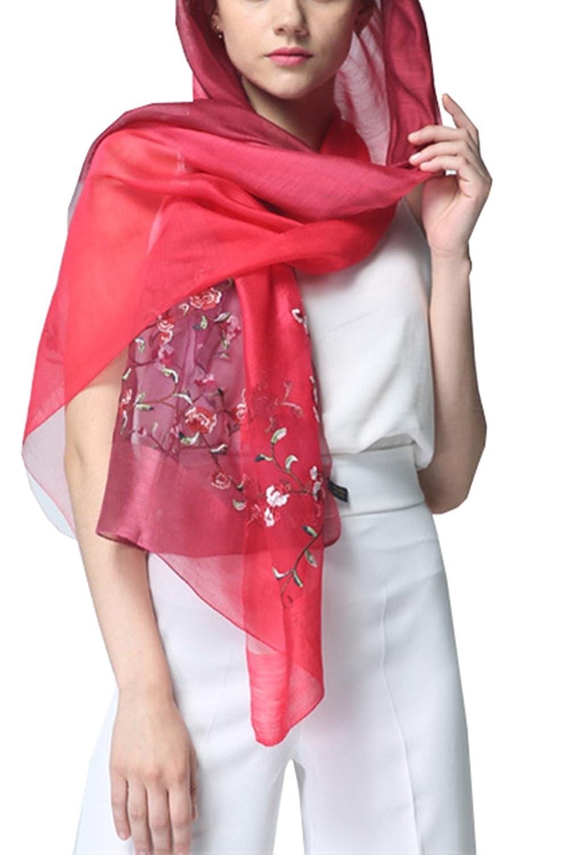 5 ALL Echarpe Foulard Femme Long Anti uv Coloré En Soie Couleur de Dégradé  Grosse Coton Cou Wrap Chale Pour Femme Ete Hiver  Amazon.fr  Vêtements et  ... ea5677279e4