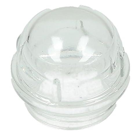 Spares2go cristal lámpara cubierta de lente para Zanussi Horno ...