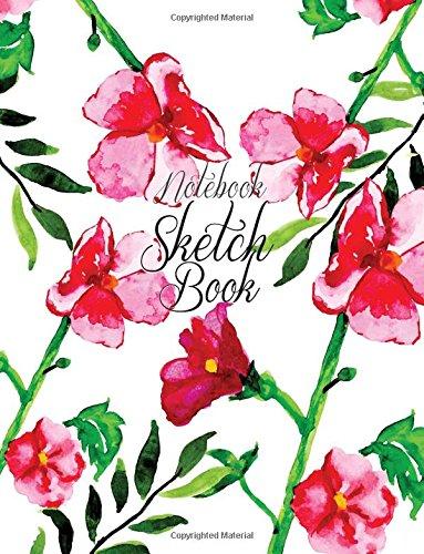 "Download Notebook Sketchbook: Wedding Valentine Cover : Notebook Sketchbook, Paper Book for Sketching, Drawing, Journaling & Doodling (Sketchbooks), Perfect Large size at 8.5"" x 11"", 120 Pages, PDF"