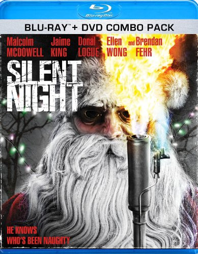 Blu-ray : Silent Night (With DVD)
