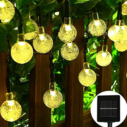 Hanging Ball Christmas Lights Outdoor