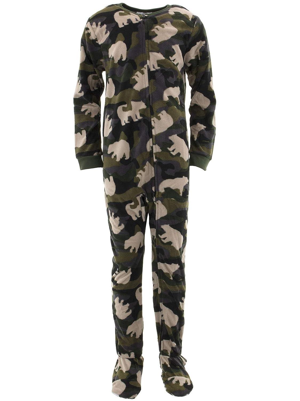 Komar Kids Boys' Big Bear Camo Blanket Sleeper