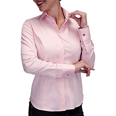 e6a07aafeb4be Andrew Mc Allister Chemise Bouton Metal New Weave Rose  Amazon.fr   Vêtements et accessoires