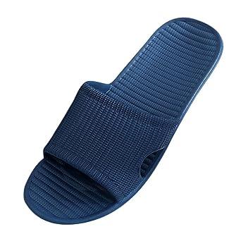 Sandalen Herren sonnena Men Stripe Flat Badeschlappen Sommer Sandalen Indoor  Outdoor Pantoffeln Gummi/massiv