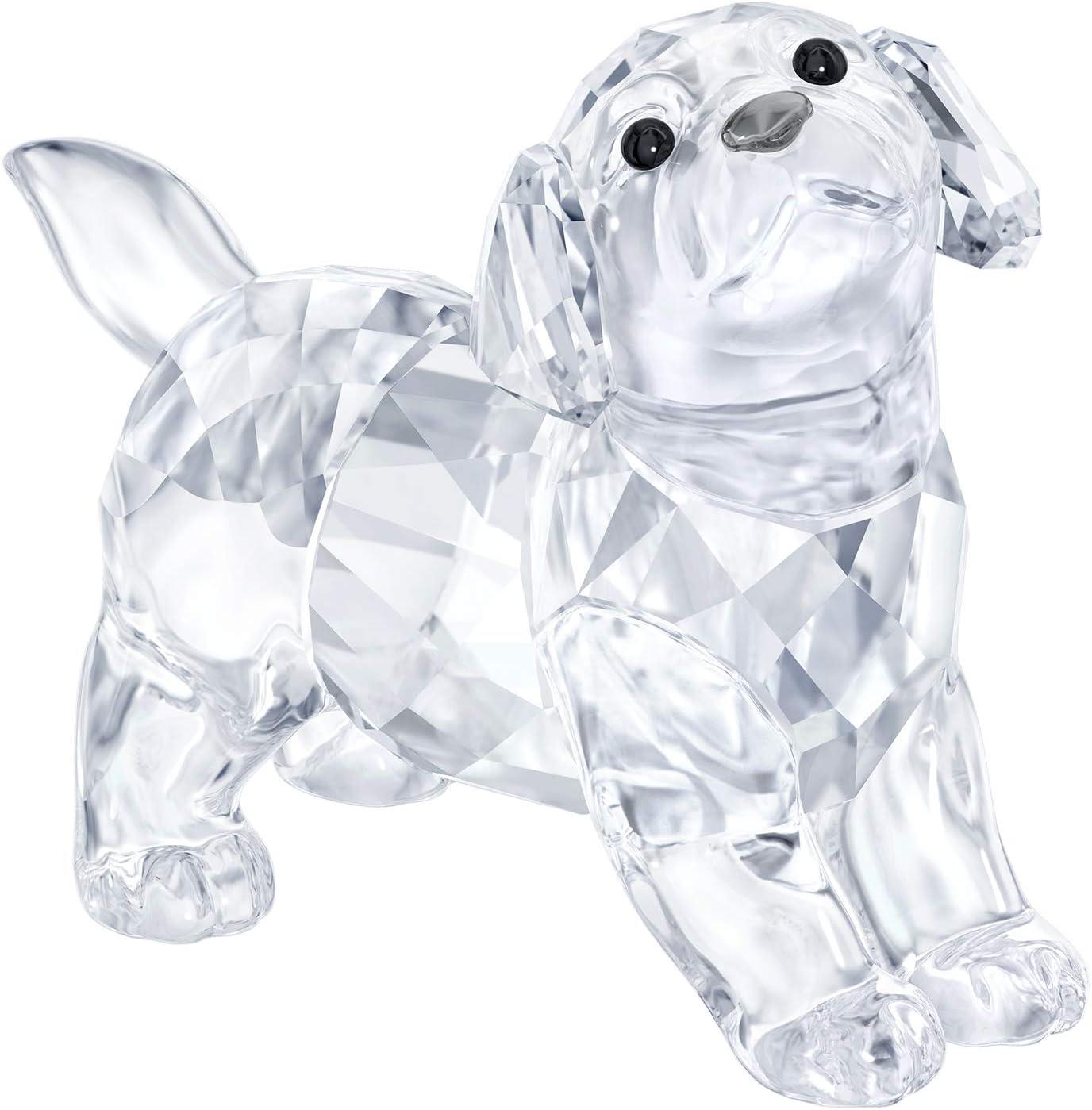 Figura swarovski perro labrador