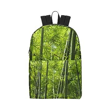 Bosque de bambú Hojas Verdes Clásico Lindo Impermeable Mochila para niños.: Amazon.es: Equipaje