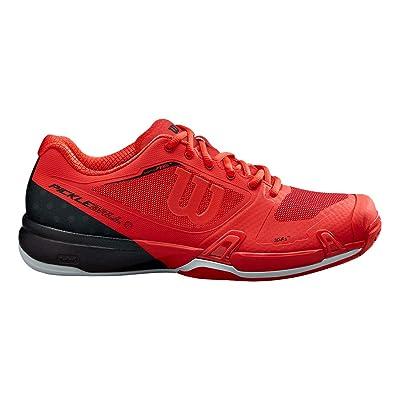 Amazon.com : Wilson Rush Pro 2.5 Mens Pickleball Shoe - Infrared/Black/Pearl Blue : Shoes
