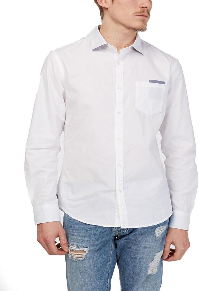 Gas Camisa Modi Blanca: Amazon.es: Ropa y accesorios