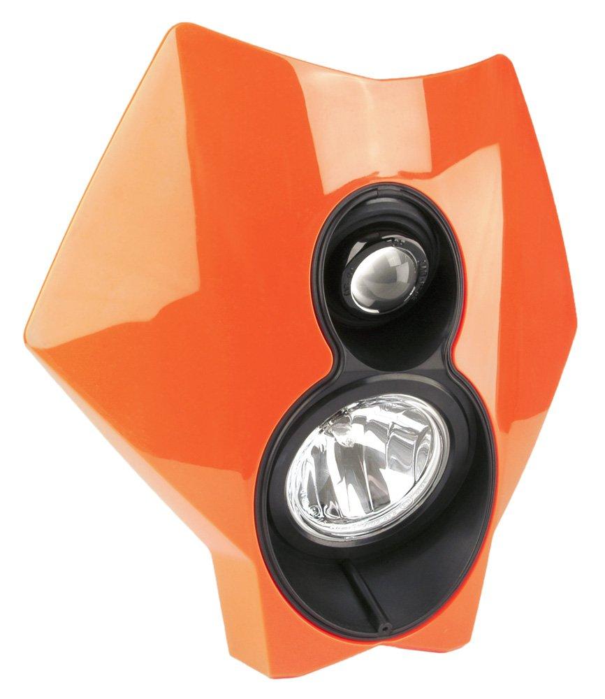 Trail Tech (37T3G-70) X2 Torch Orange 70W Dual Sport Halogen DOT Motorcycle Headlight