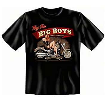 geil bedrucktes Biker & Motorrad T-Shirt