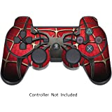 Skins for PS3 PlayStation 3 Controller Decals Sony Dualshock 3 Console Remote Wireless Controllers Skin Stickers - Spider Man [ Controller Not Included ] by GameXcel ®
