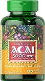 Puritan's Pride Triple Strength Acai 3000 mg-120 Softgels