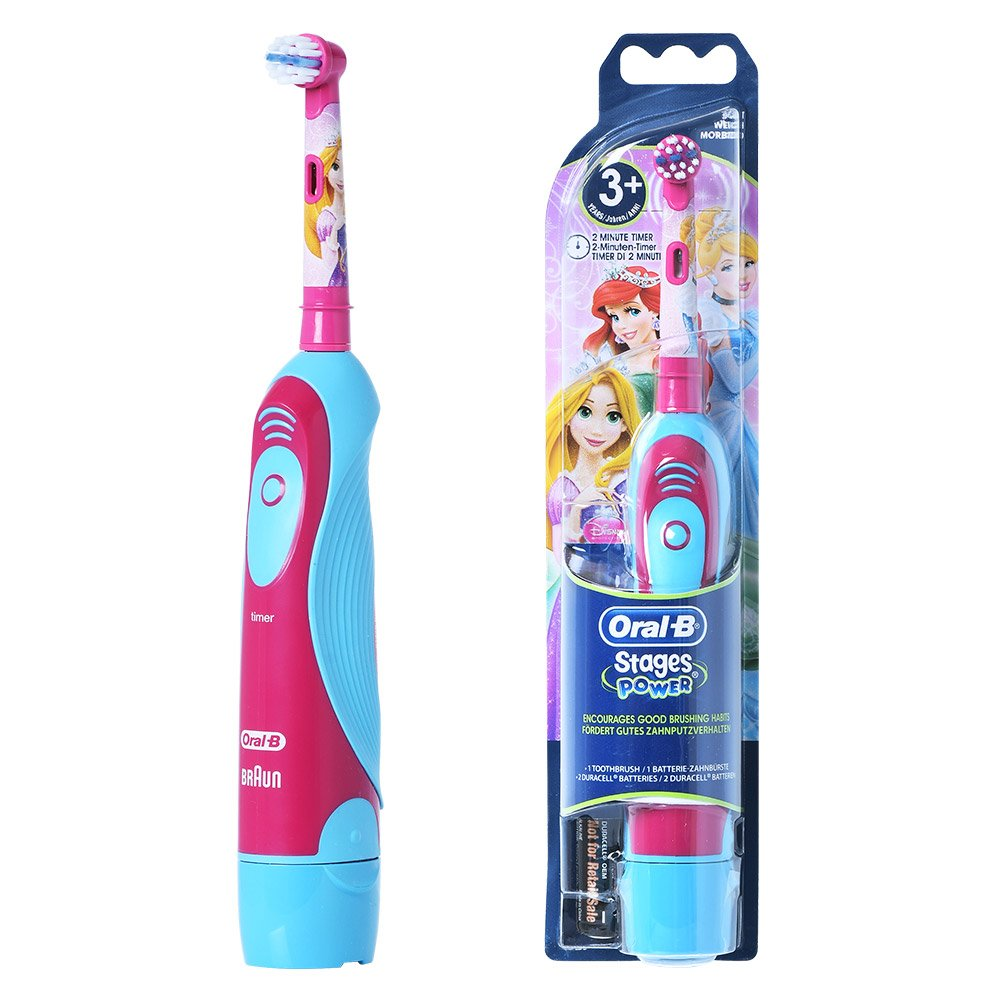 Braun ORAL B 4510K Stages Power Electric Toothbrush for Kids DisneyPrincess