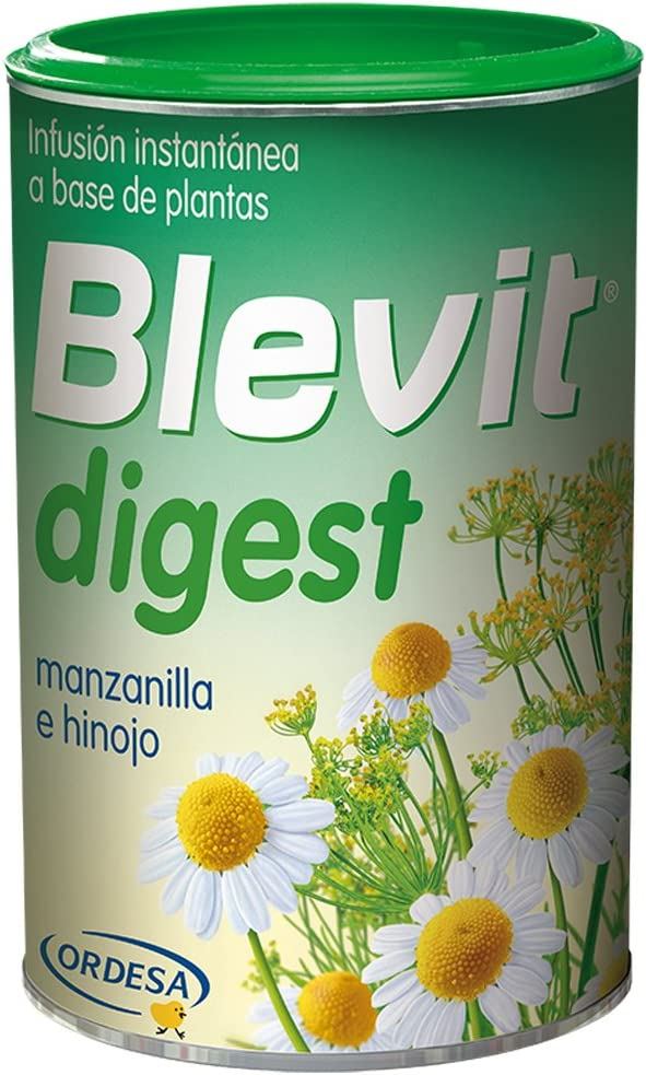 Blevit Digest Infusión Instantánea Elaborada A Base de Extractos Solubles de Plantas, Manzanilla E Hinojo, 150g