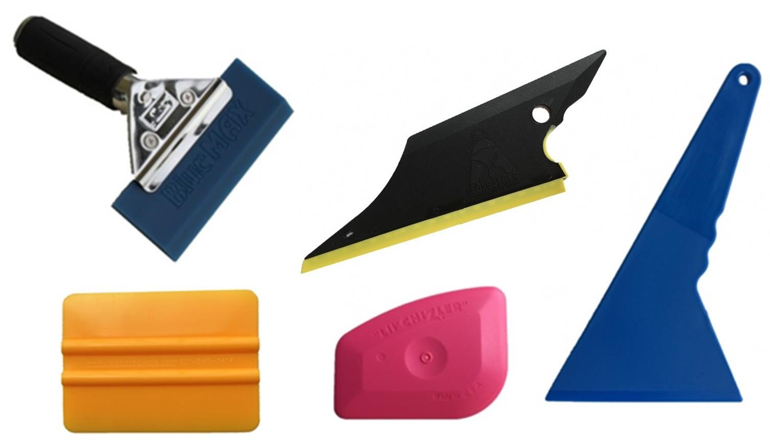 Useful 5 in 1 Window Film Tools Squeegee Scraper Set Kit Car Home Tint & Durable
