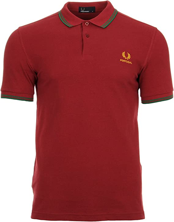 Fred Perry The Country Shirt 2018 Portugal, Polo: Amazon.es: Ropa ...