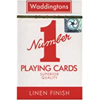 """Waddingtons """"Number 1"""" Playing Cards (Colours may vary)"""