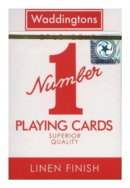 Winning Moves Waddingtons - Baraja de Cartas de póker Number ...