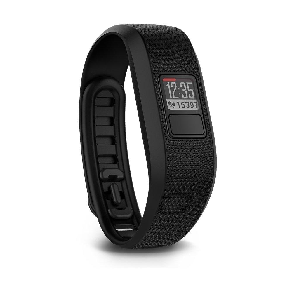 Garmin Fitness Band, Vivofit 3, Black, Refurbished Unit, 010-N1608-00